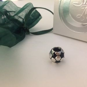 Pandora Jewelry - Pandora Sterling 925 ale Soccer Ball Charm RETIRED